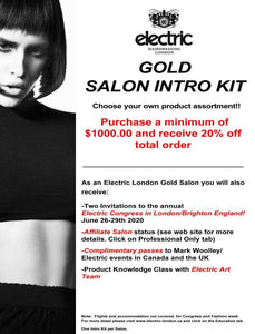GOLD SALON INTRO KIT