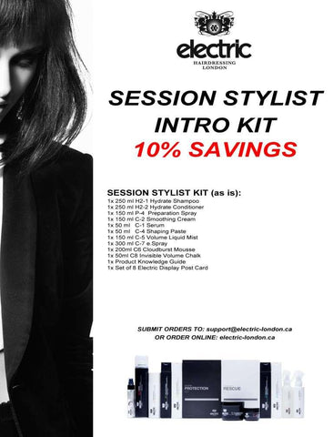 SESSION STYLIST INTRO KIT