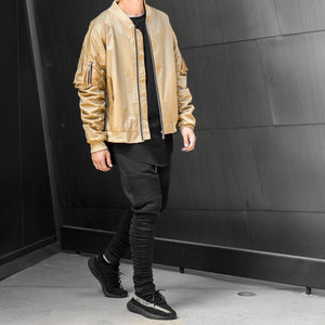 Escape Bomber Jacket : Tan