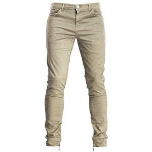 Ankle Zip Pants : Khaki