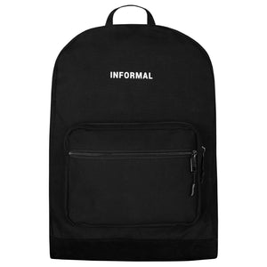 Logo Daypack : Black Canvas