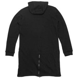 Raw Trench-Hoody : Black