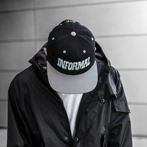 Shadow Snapback : Black/Grey