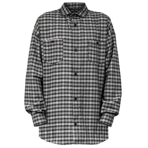 Buttondown Longsleeve : Checkered Houndstooth