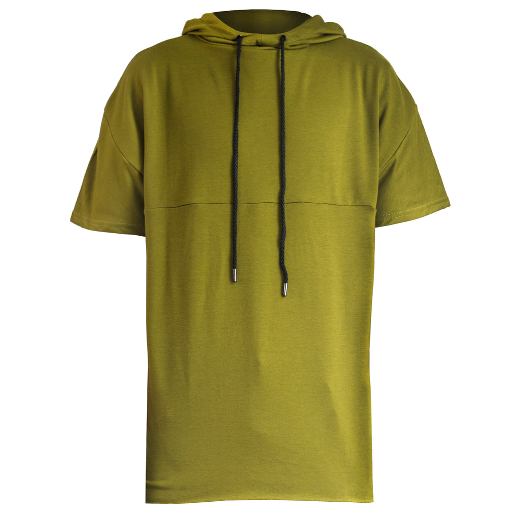 Separated Hoody : Burnt Olive