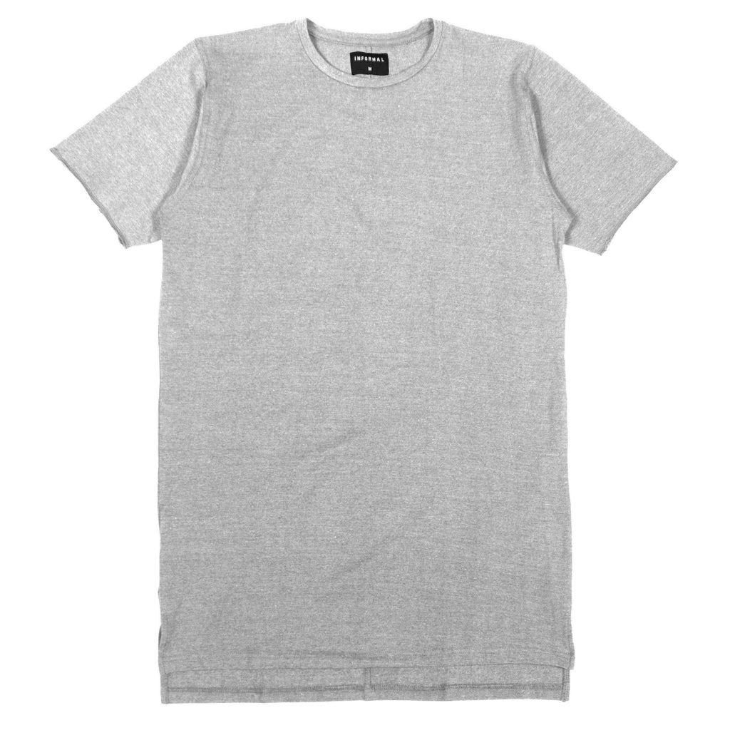 Dropback Tee : Heather Grey