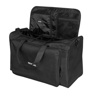 Logo Duffle Bag : Black/White