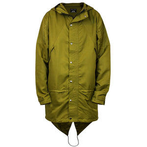 Fishtail Shell Jacket : Burnt Olive