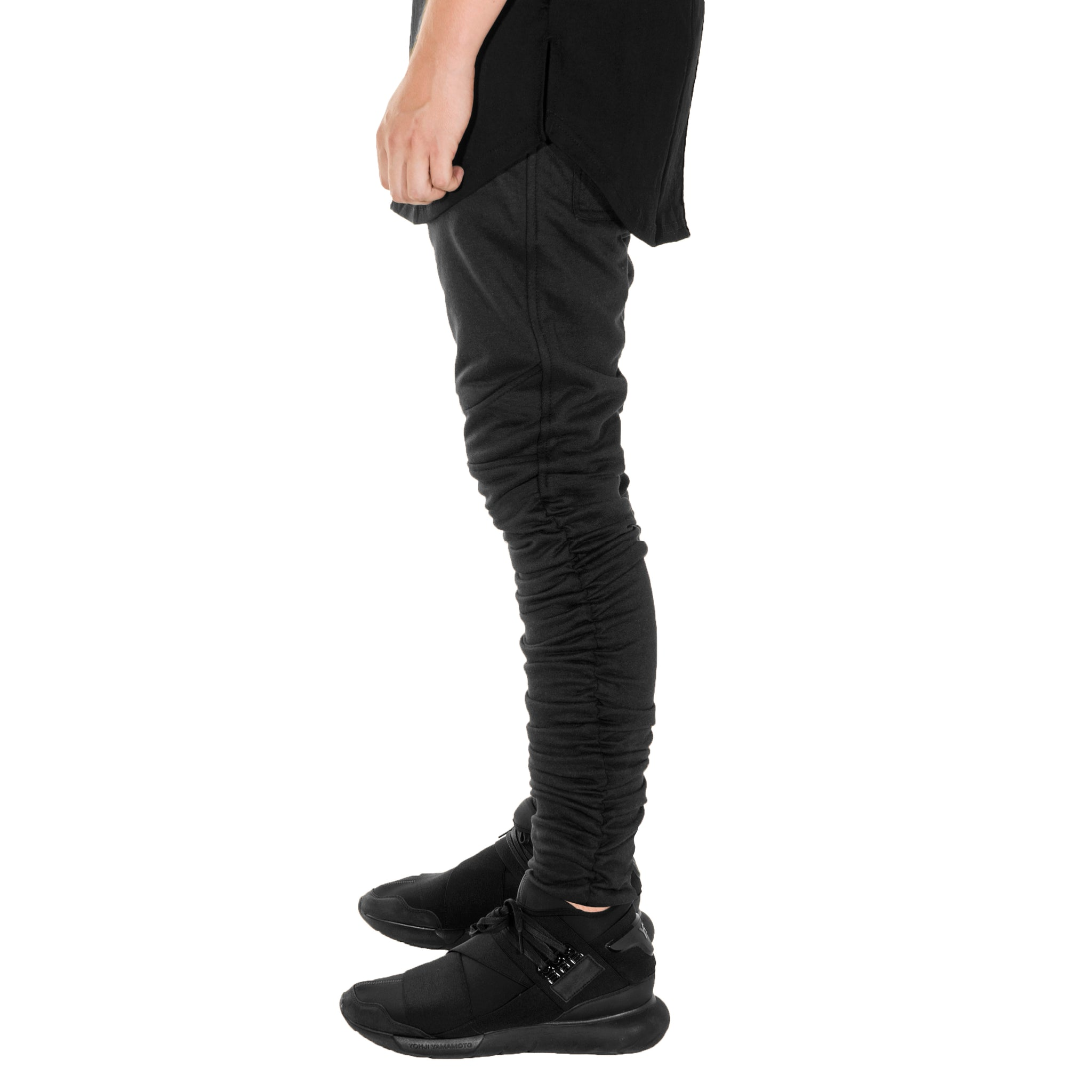 Ruche Trackpants : Black