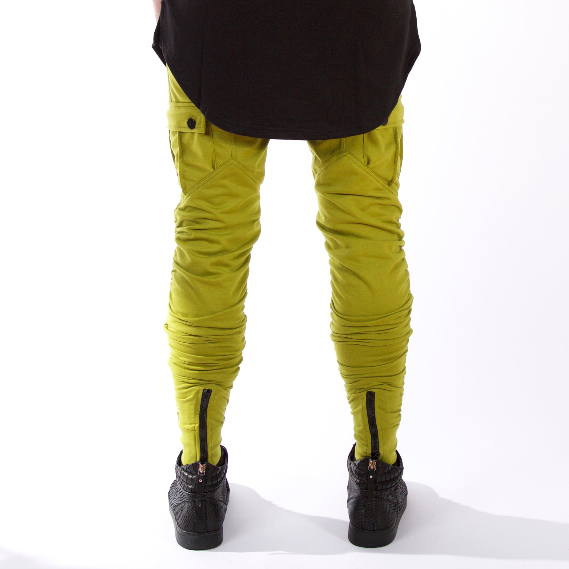 Cargo Dimension Joggers : Green