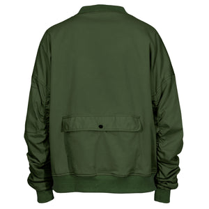 IA-1 Bomber Jacket : Olive Denim