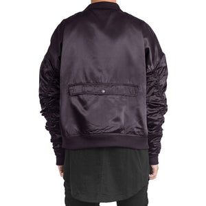 IA-1 Bomber Jacket : Purple Dye