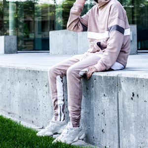 Inversion Hoody : Pink/White