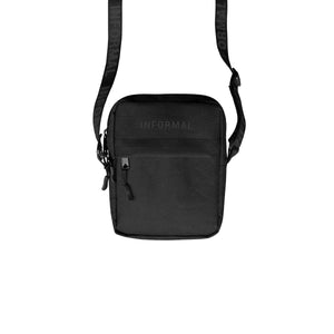 Logo Shoulder Pack : Black