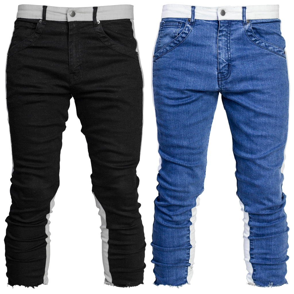 Cropped Spear Jeans : 2 Colorways