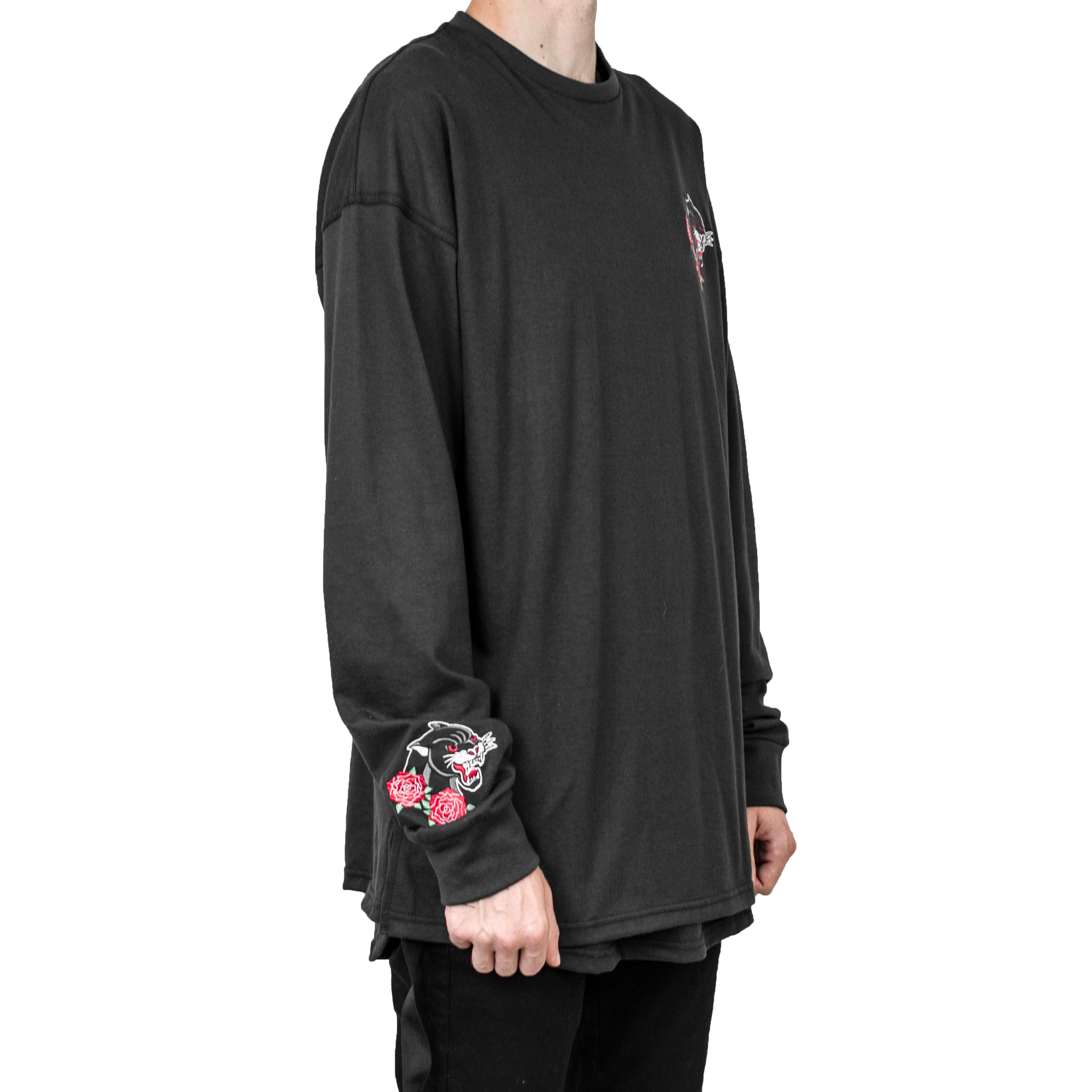 Panther Longsleeve : Black