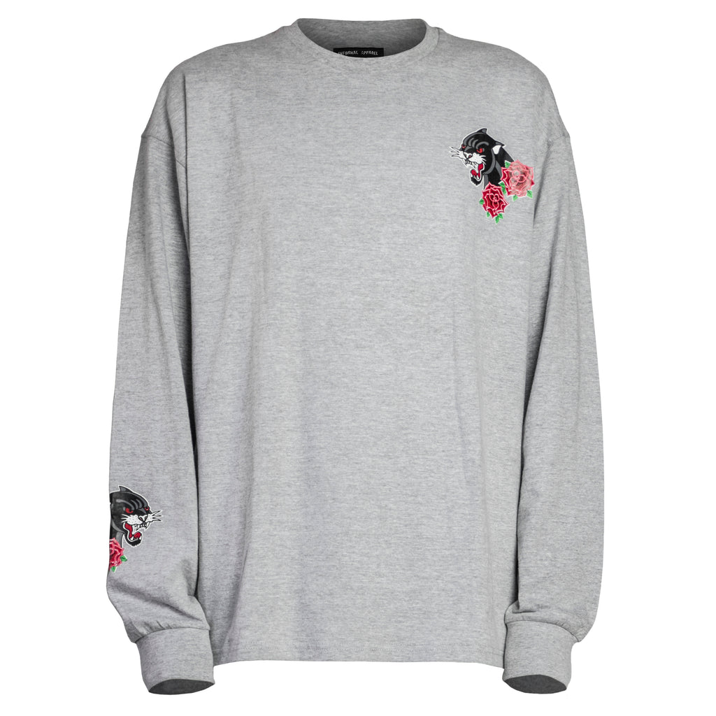 Panther Longsleeve : Heather Grey