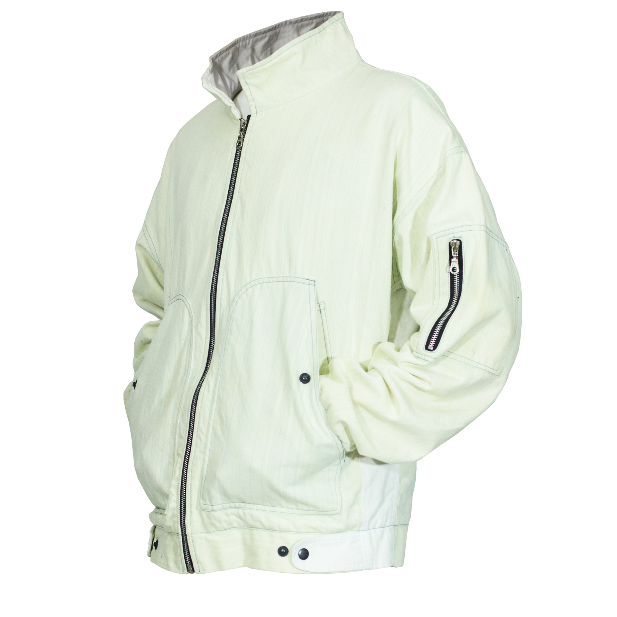 Pilot Jacket 2.0 : Bleach/White