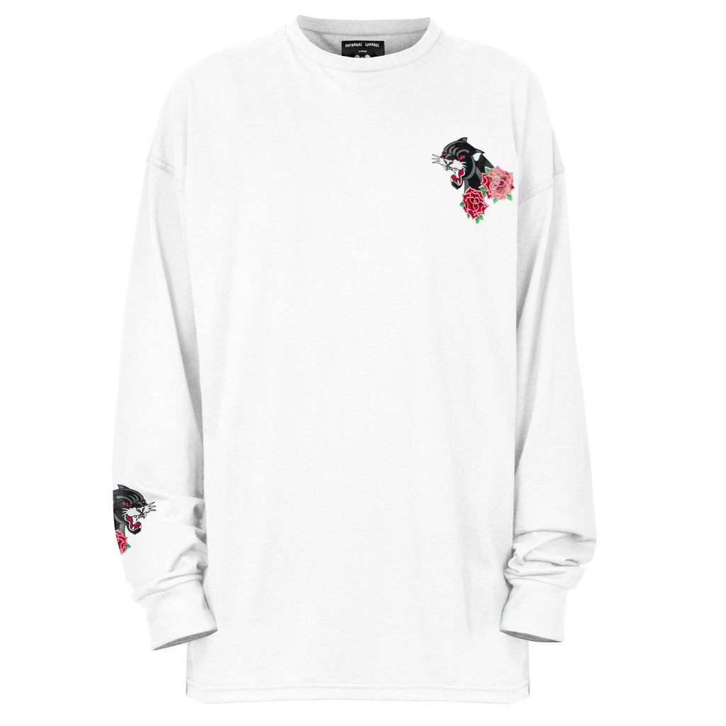 Panther Longsleeve : White