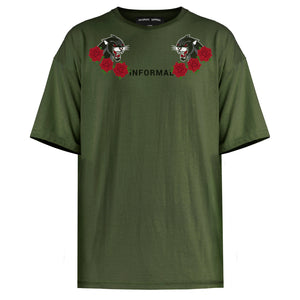 Panther T-shirt : Olive