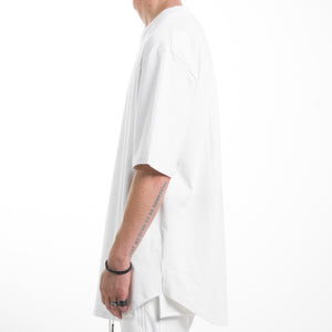 Scallop Tee : White