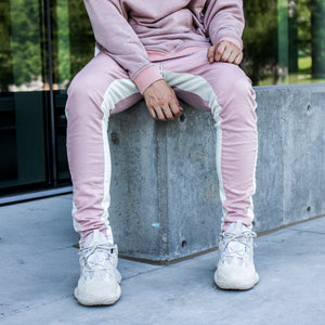 Track Jeans : Pink/White