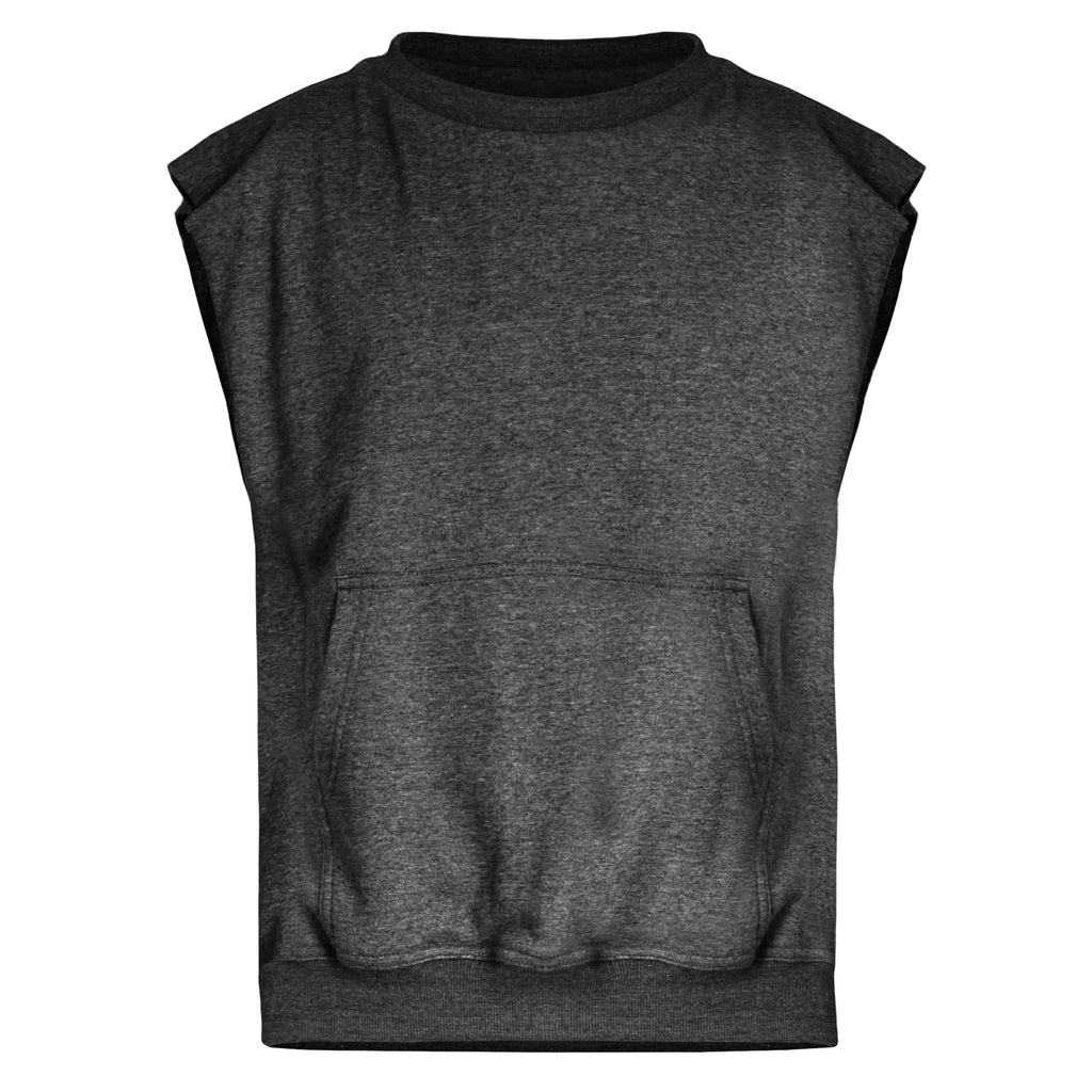Spine Crewneck : Charcoal Heather