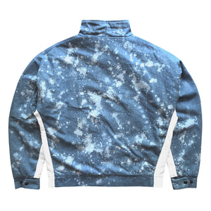 Splatter Jacket : Blue Denim