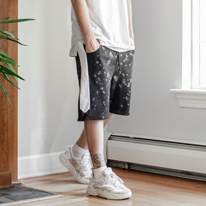 Splatter Shorts : Black