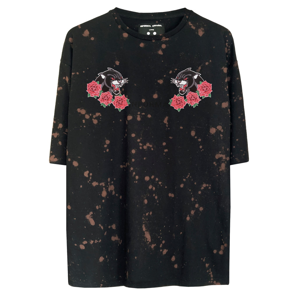 Splatter T-shirt : Black
