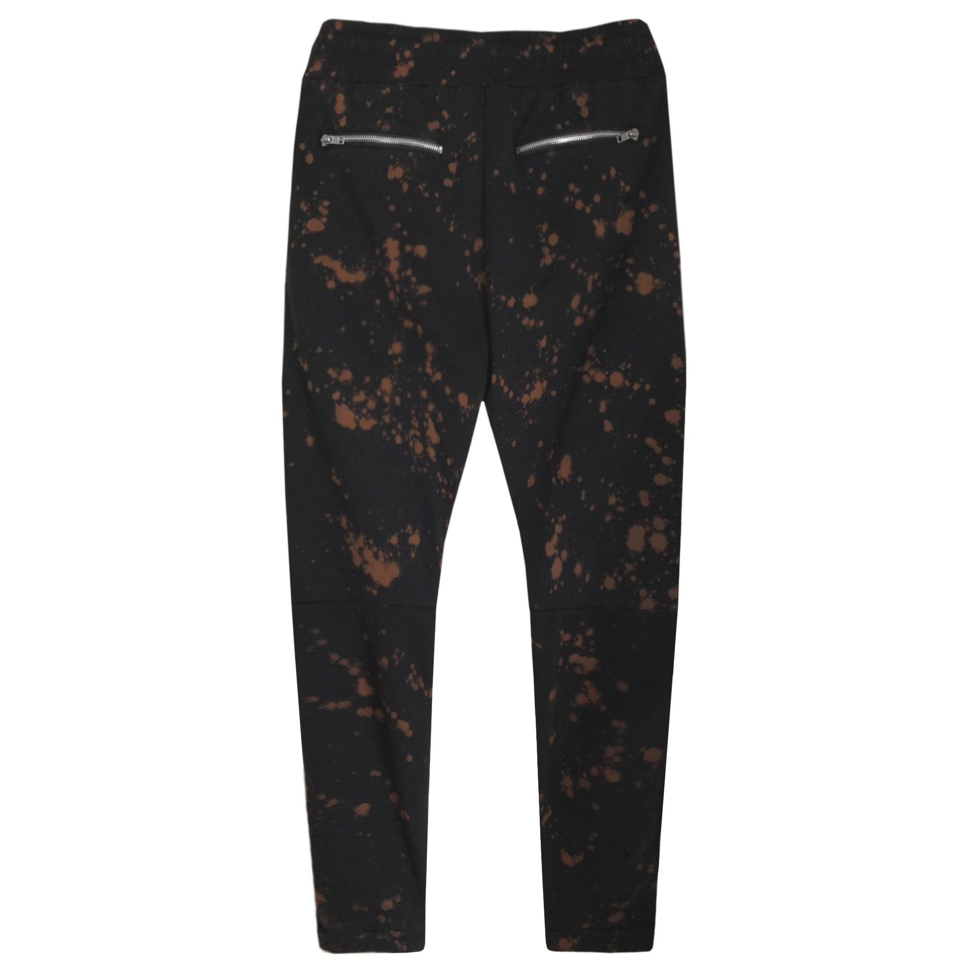 Splatter Trackpants : Black