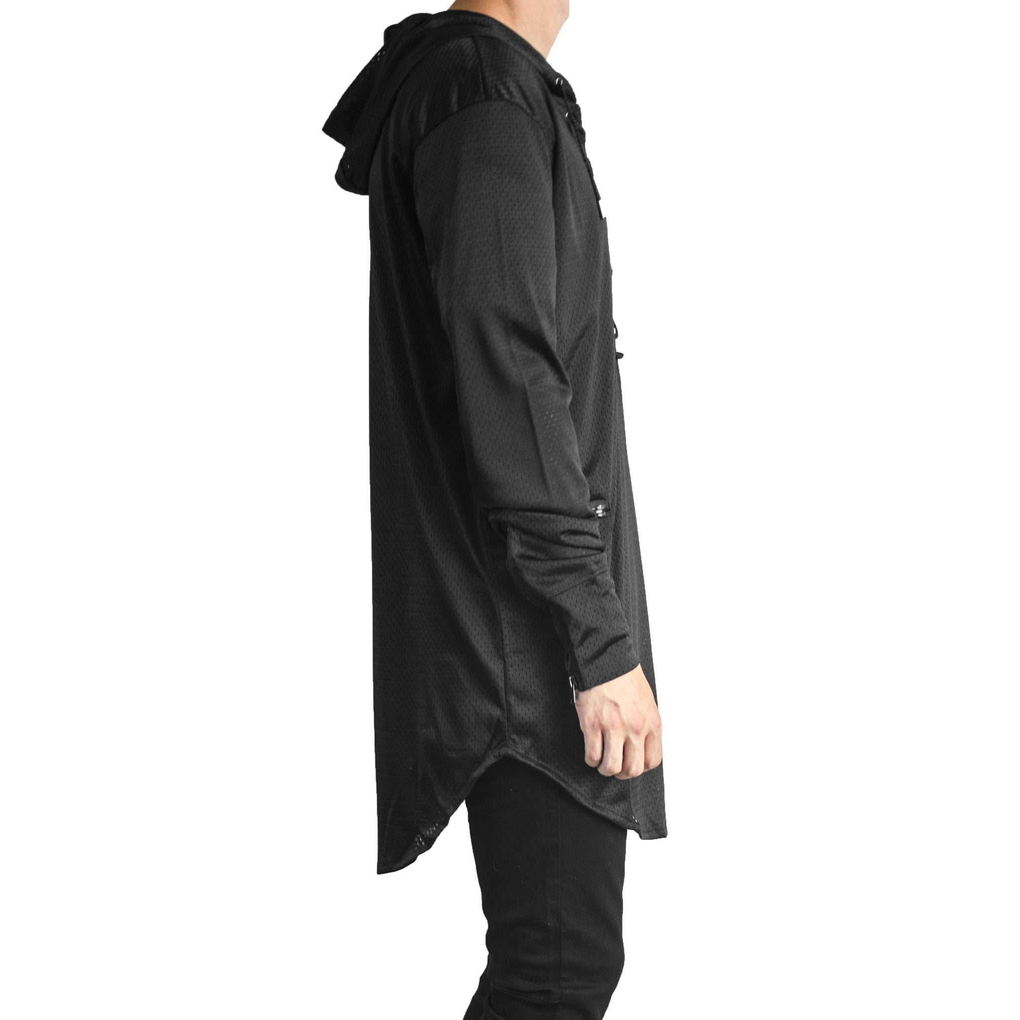 Stringup Hoody : Black
