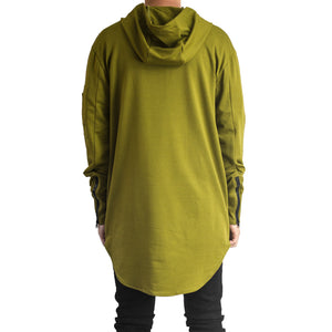 Stringup Hoody : Burnt Olive