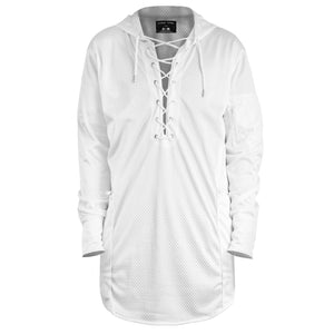 Stringup Hoody : White