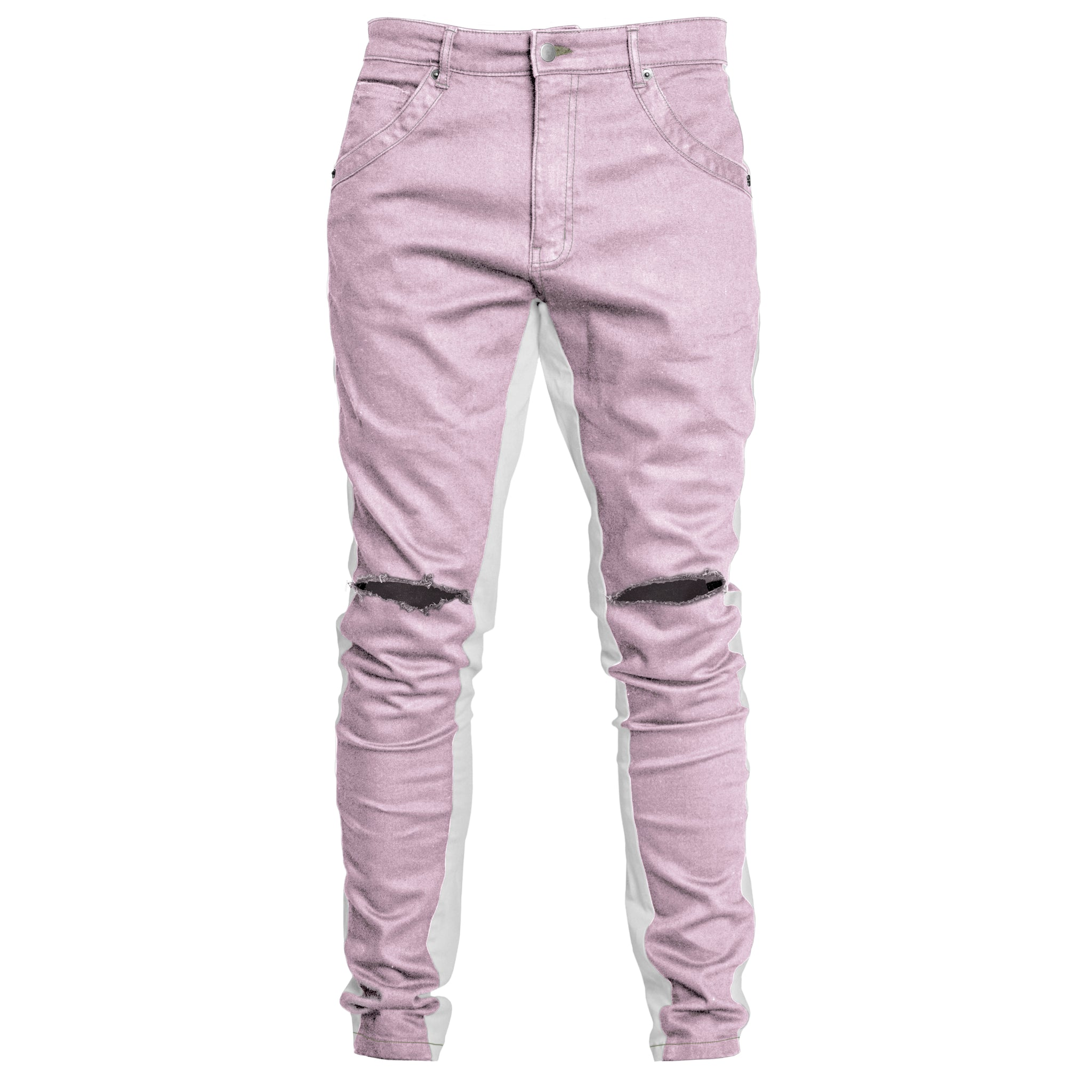 Track Jeans : Light Ochra/White