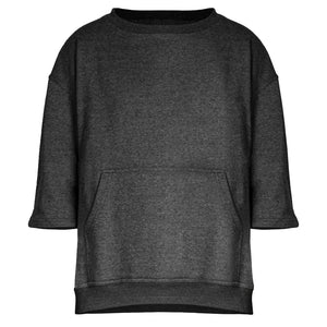 Vertebrae Crewneck 2.0 : Charcoal Heather