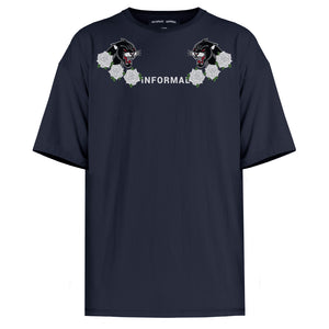 Panther T-shirt : Navy