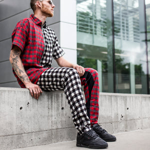 Plaid Outfit : Split