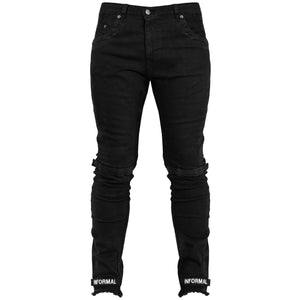 Streuth Jeans : Black