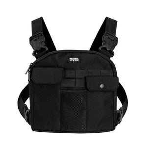 Tag Chest Bag : Black