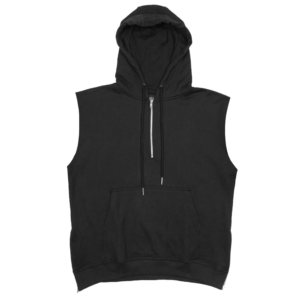 Spinal Half-Zip Hoody : Black