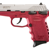 CPX-1 9MM RED/STAINLESS