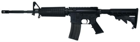 "BLACK FORGE 5.56 16.5"" A3 F2"