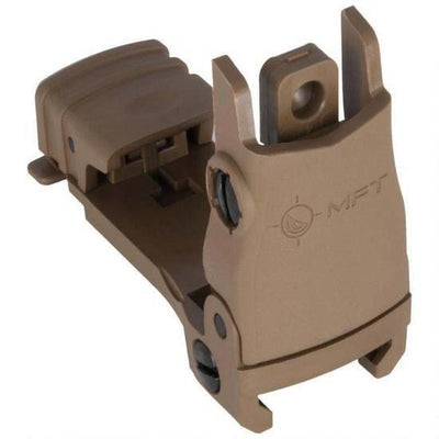 MFT FLIP UP REAR SITE POLY FDE