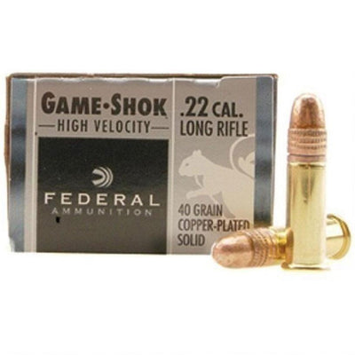 FED 22LR 40GR CPSOLID GAME-SHO