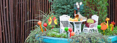 Thanksgiving in the Miniature Garden