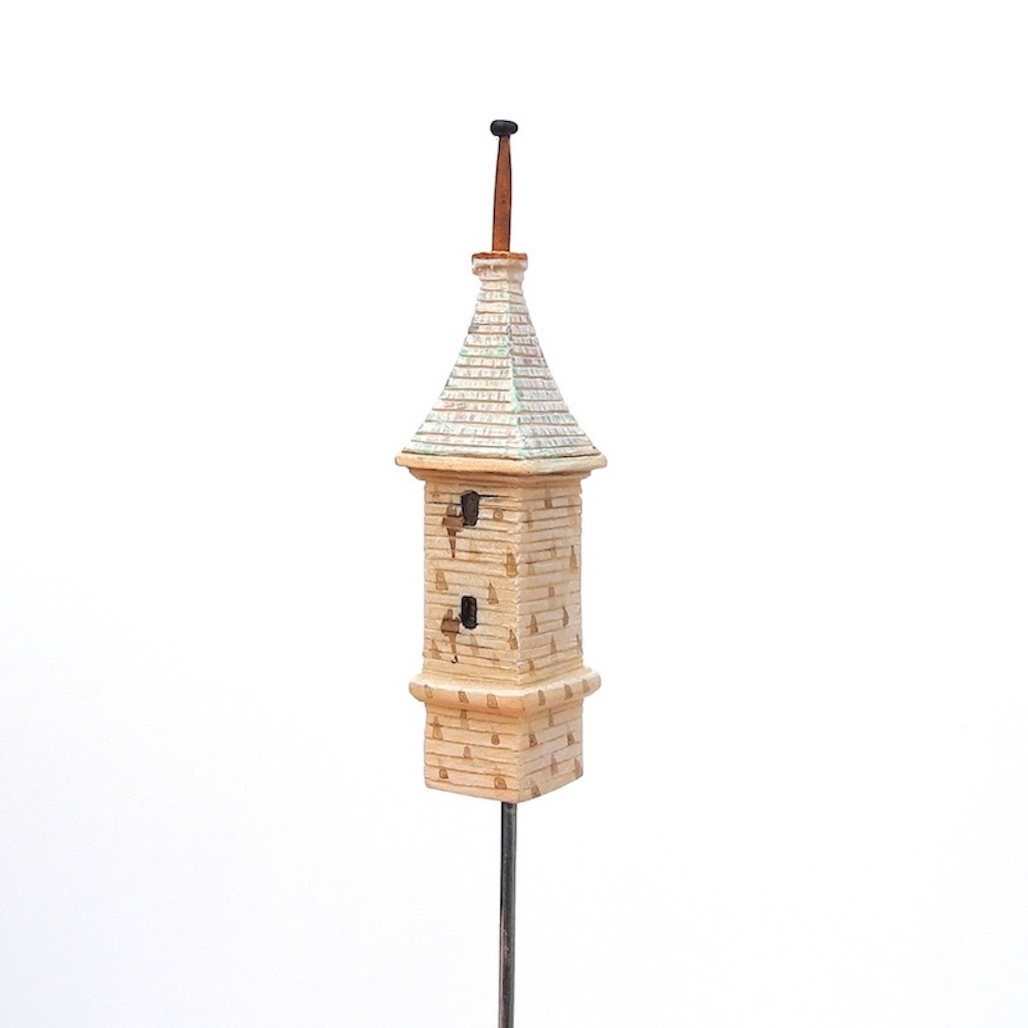 Tower Birdhouse with Steeple