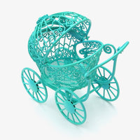Blue Baby Buggy