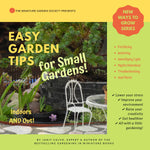 Easy Garden Tips for Small Gardens - PDF Ebook
