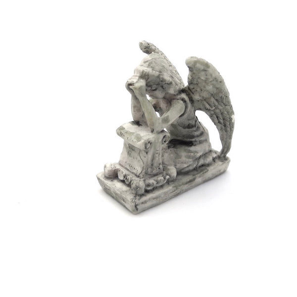 Praying Angel, Faux Stone, Staked